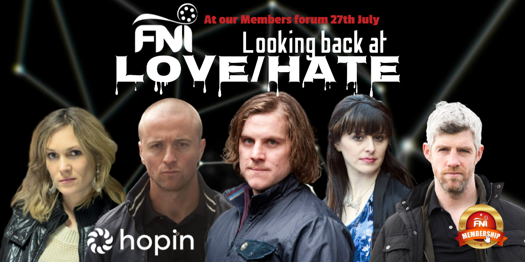 WEAREFNI-Love Hate event live online